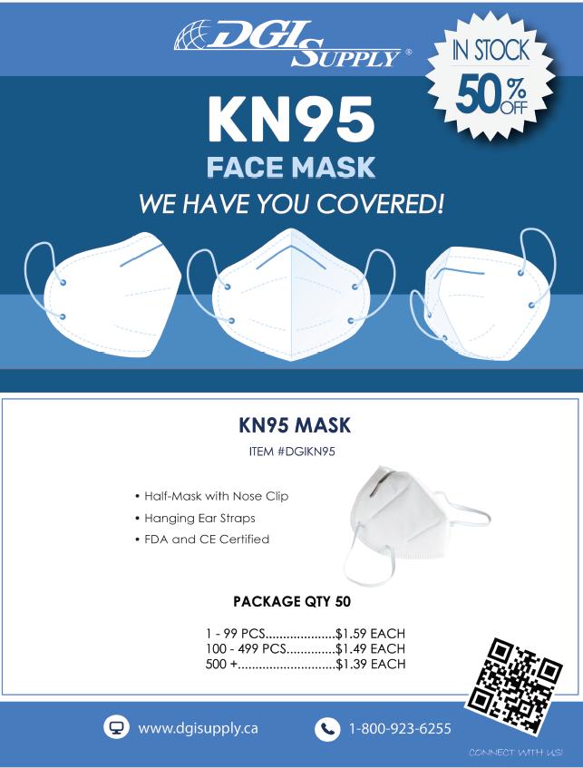KN95 Mask Promotion