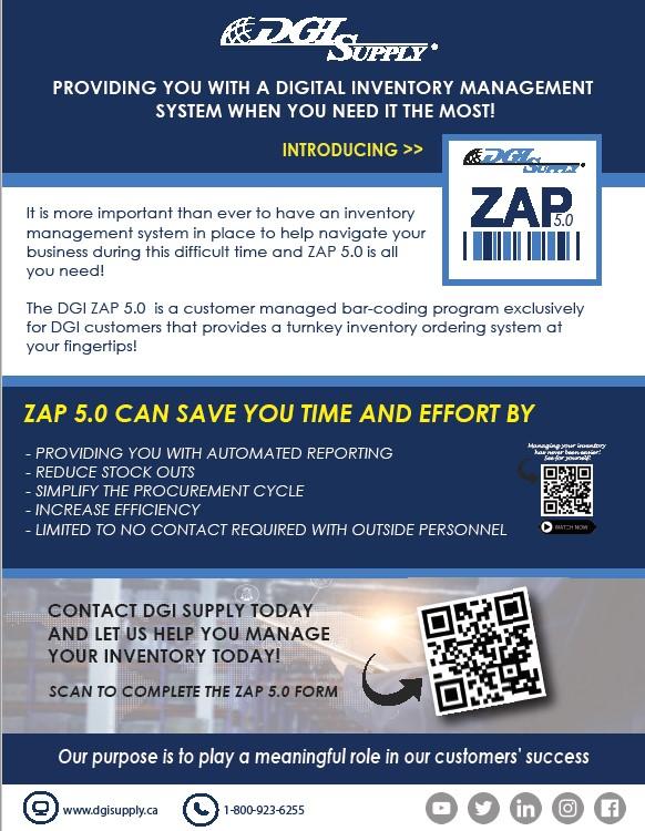 Digital Inventory Management System - Zap 5.0