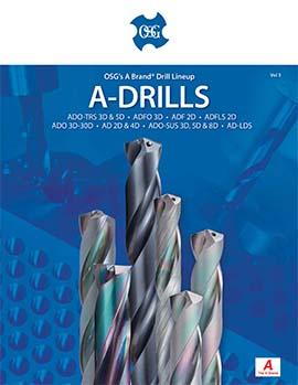 OSG A-Brand Drill Lineup