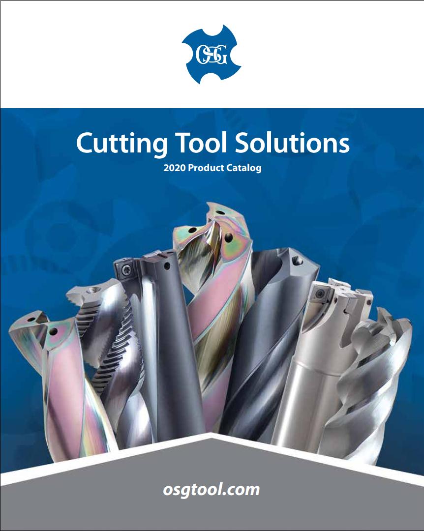 OSG Cutting Tool Solutions 2020