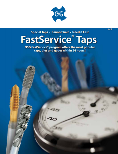 OSG FastService Taps Program