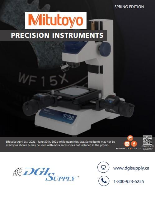 Mitutoyo Q2 Precision Instruments Spring Sale