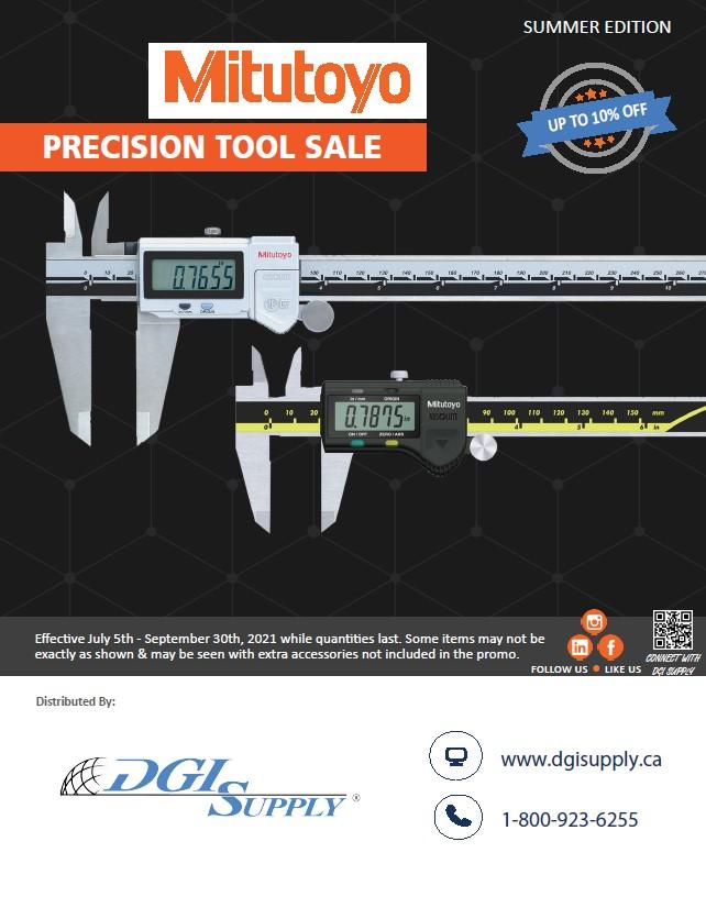 Precision Tool Summer Sale