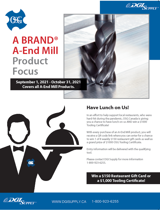 A-Brand A-EndMill Promotion