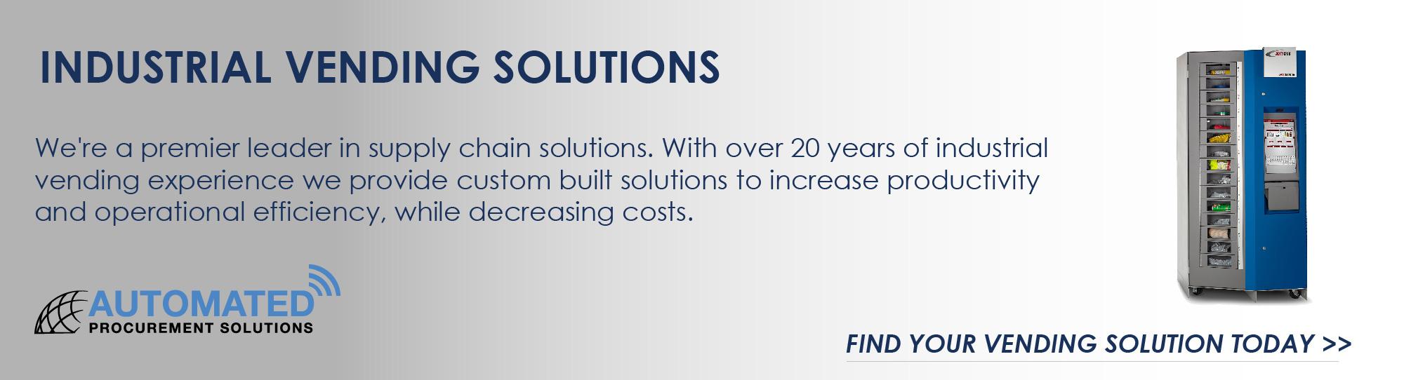 Industrial Vending Solutions
